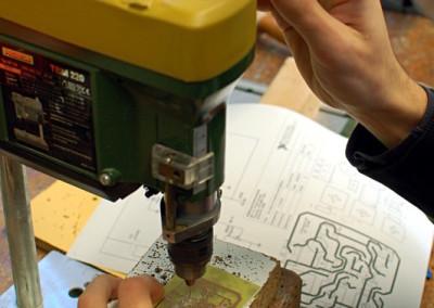 foratura circuiti stampati