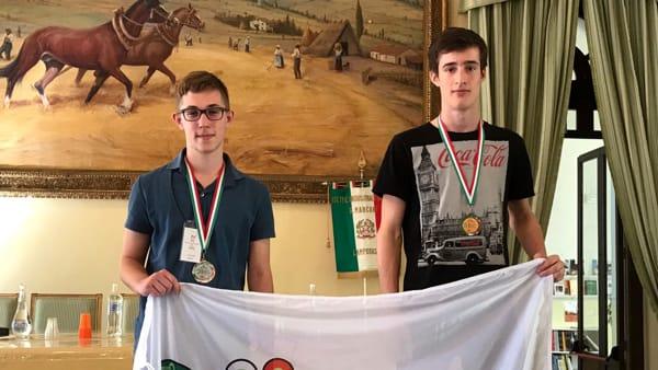 olimpiadi informatica, Filippo Sanzani Bronzo
